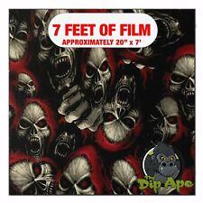 Hydrographic Film Red Riding Hood Skulls Hydro Dipping 7 X 20 Hydro Dip