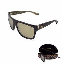Guess Herren Sonnenbrille GU6843-5702B, Schwarz (Negro), 57