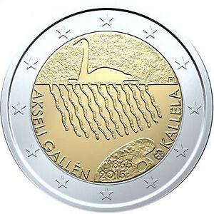 2 Euro Gedenkmünze Finnland 2015 Akseli Gallen Kallela Unz Ebay