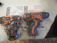 Ridgid 12v R82005 & R82230 Impact Driver And Drill Driver Bare Tools Only