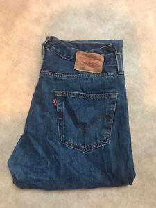 Jean Levis 501 Vintage Taille Haute W34 L36 Taille 44