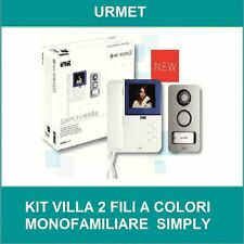 Kit videocitofono a colori SYMPLY pulsantiera MIKRA URMET 956/81