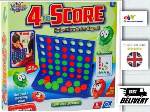 Nouveau-Connect 4 To Score Board Game Enfants Adultes Fête Fun Cadeau quatre dans une rangée