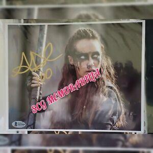 Alycia-Debnam-Carey-Signed-8x10-Photograph-Beckett-Coa-034-100-034-inscribed-Bold-auto