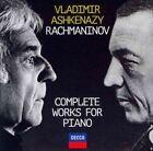 Ashkenazy Rachmaninov Complete Works for Piano CD 11 Disc BOXSET 2014