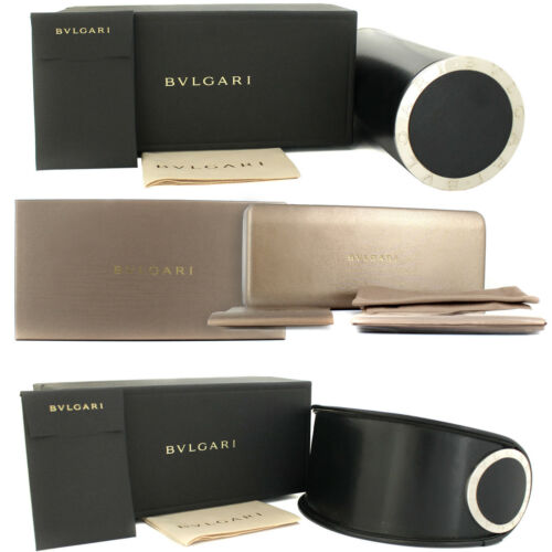 Bvlgari Sunglasses BV6098 20134Z Matte Gold Grey Rose Gold Mirror