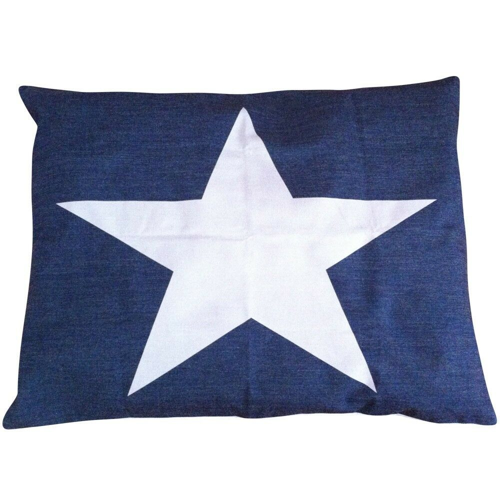 blu Star Dog Bed Cover