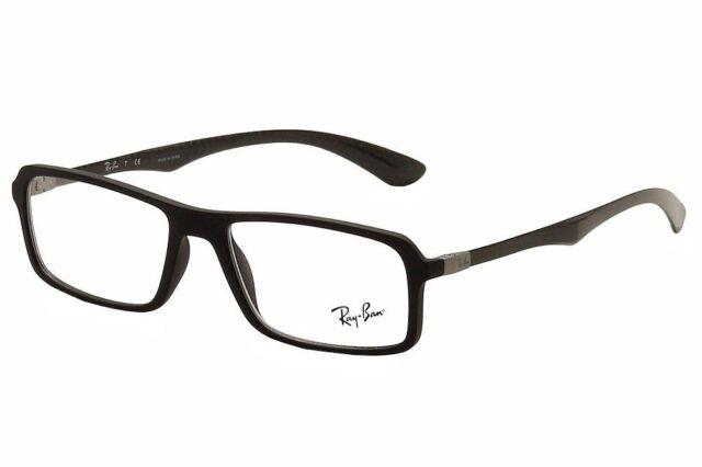 099c8c9326d ... promo code ray ban rb 8902 f 5196 matte black carbon fiber new  eyeglasses 56mm w