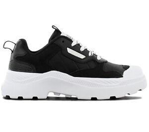 Palladium-PALLAKIX-90-LOW-Damen-Sneaker-76425-002-Schwarz-Schuhe-Turnschuhe-NEU