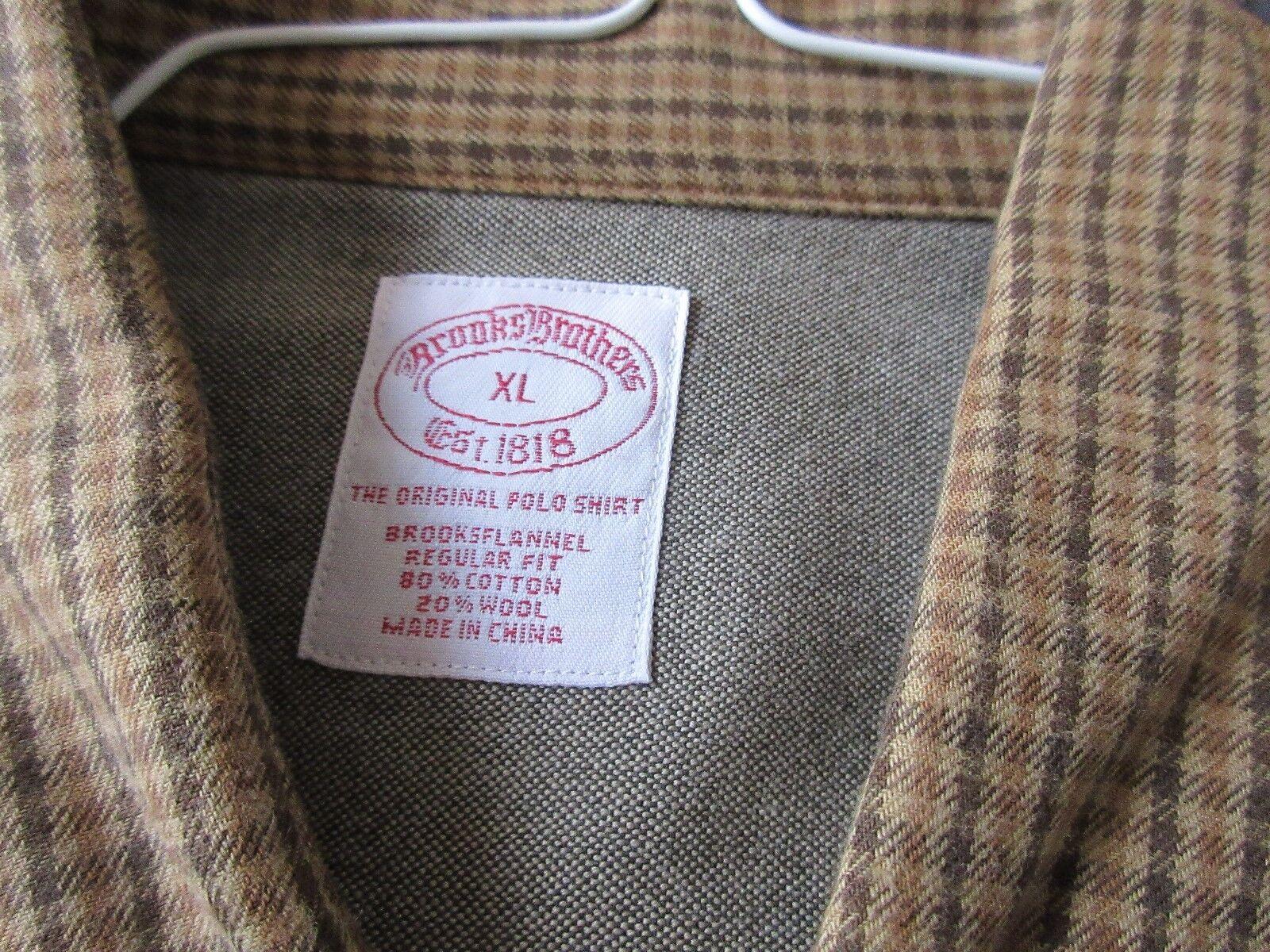 Brooks Brothers , X-Large , Men's Long Sleeve Shirt , U