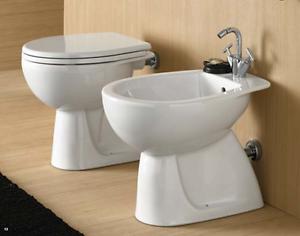Sanitari bagno pozzi ginori colibri 02 vaso bidet e sedile da appoggio classica ebay - Sanitari bagno pozzi ginori ...