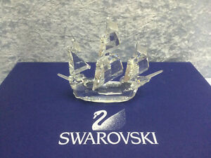 Swarovski Santa Maria Ship - 7473 000 003 / 162 882. Retired 2004.  MIB