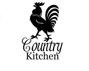 Image Is Loading Country Kitchen W Rooster Decal Sticker For 8