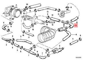 bmw e28 engine diagram genuine bmw e28 e30 cabrio coupe sedan vacuum control hose oem  genuine bmw e28 e30 cabrio coupe sedan