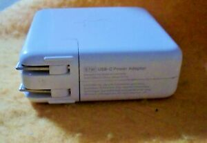 Genuine Apple A1719 87W USB-C Power Adapter Charger MacBook Pro Without Cord