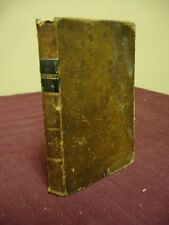1846 RARE Holy Bible PHILADELPHIA Leather NEW TESTAMENT Antique