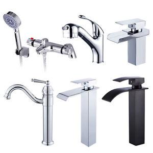 ... cascade-robinets-lavabo-mitigeur-robinet-douche-thermostatique-Salle- 197f6408bade
