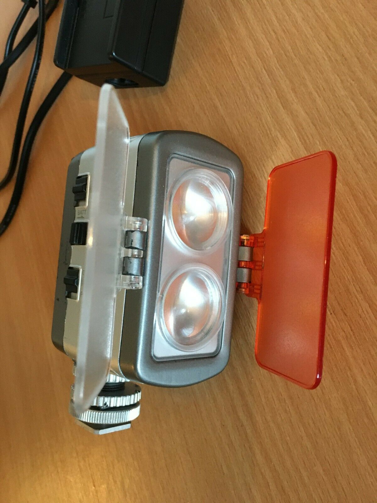 Pro 80 on Camera Led Video light with Filters