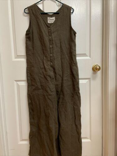 Conscious Clothing Linen Jumpsuit Medium