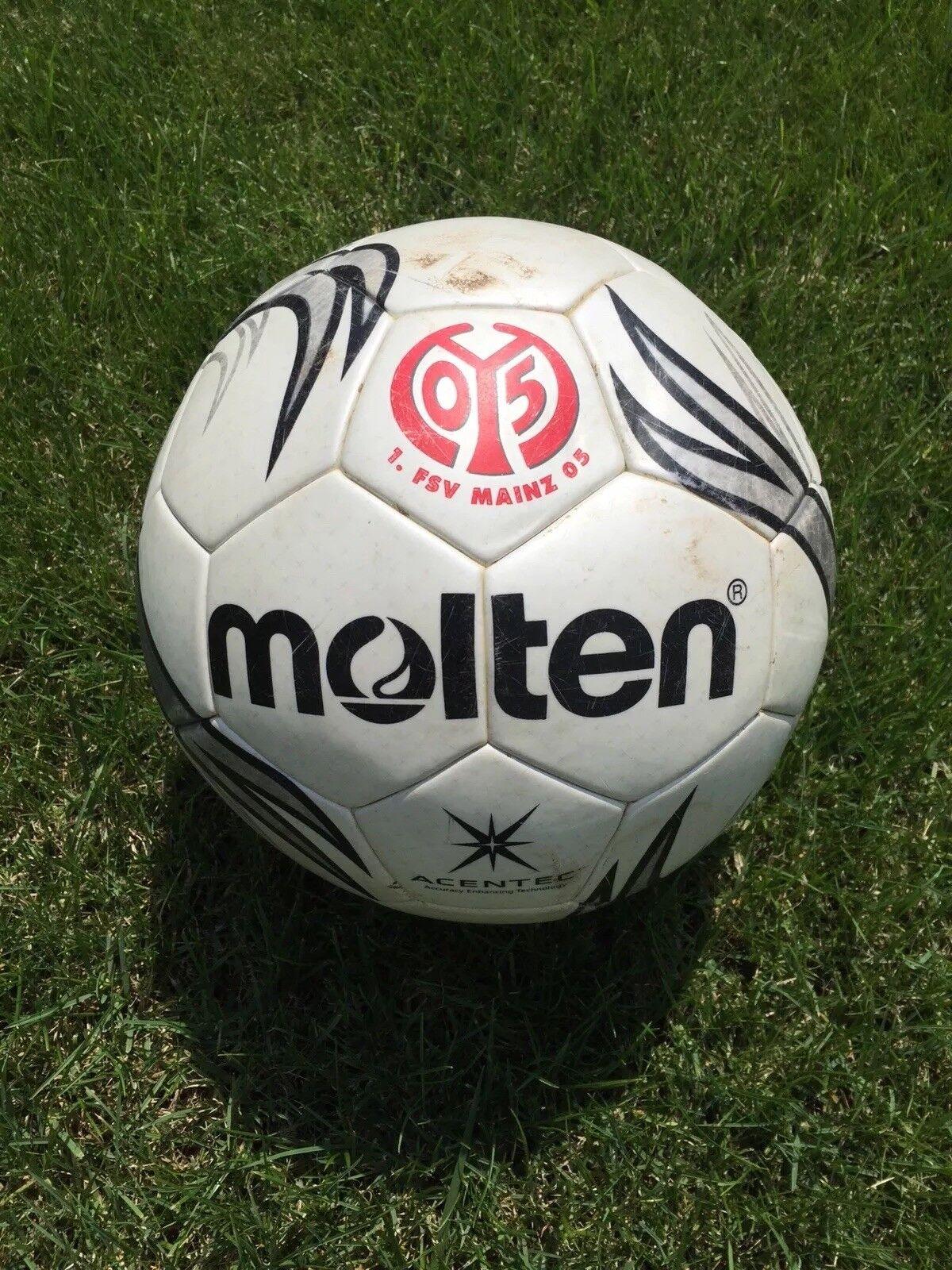 Matchball 1. FSV Mainz 05 - 1. FC Nürnberg Molten Original vom 30.10.2005  | Feinen Qualität