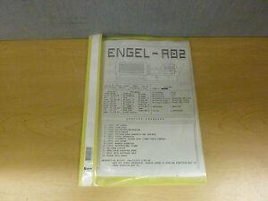 engel ec88 cc90 a02 injections molding software description manual rh ebay com