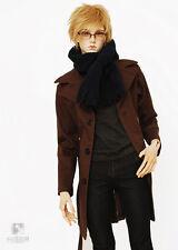 Cool Jeans Denim Jacket+Grey Shirt 1//4,1//3 SD17 Uncle BJD Doll Clothes CMB1