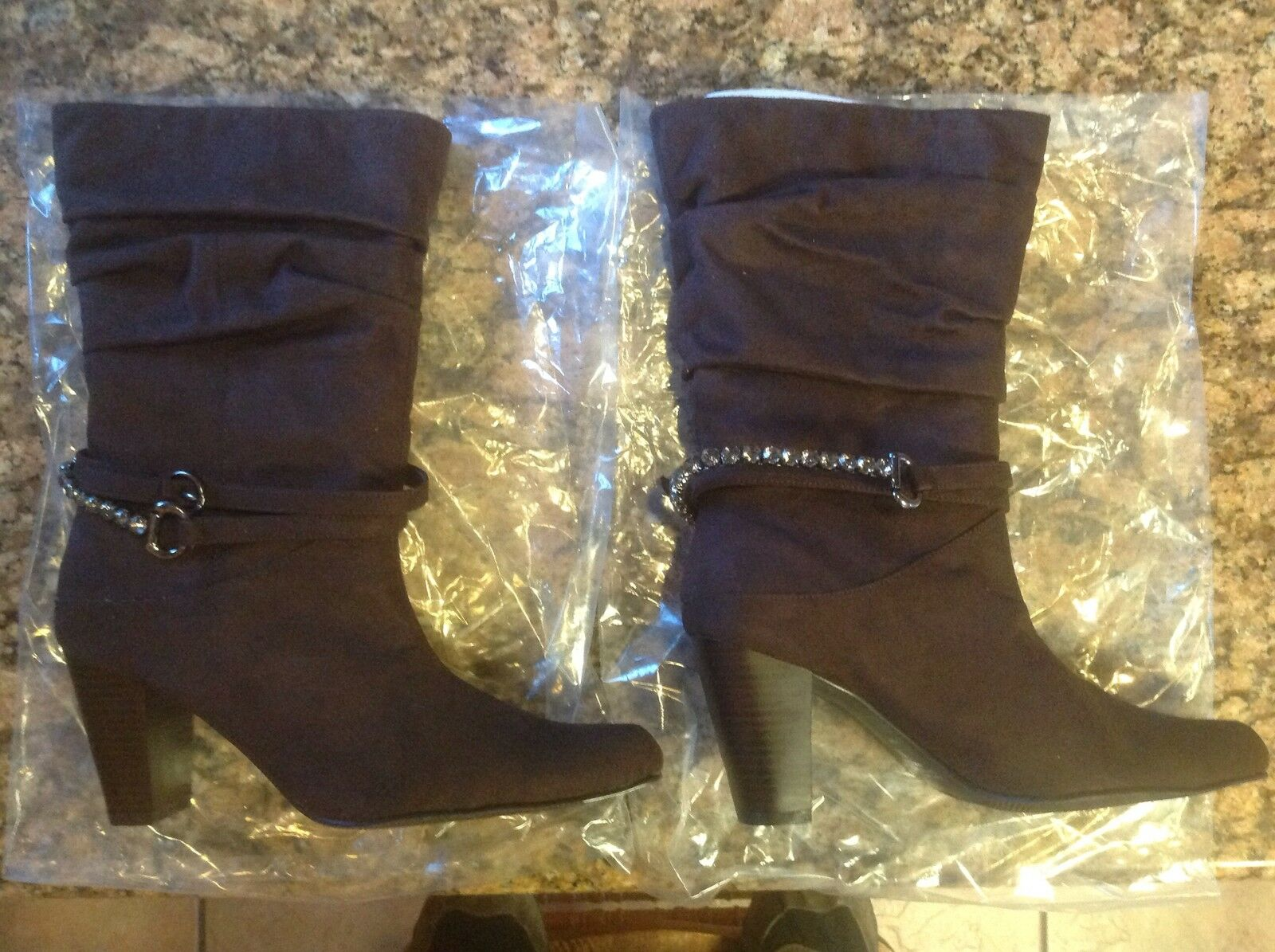 Newport News Brown Suede Women's Boots Size 8.5