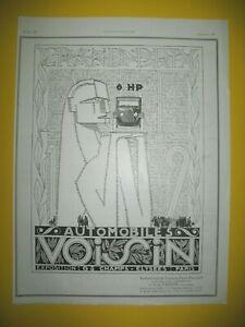 Publicite-de-Prensa-Voisin-8hp-Automovil-Gran-Premio-1923