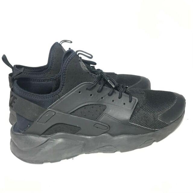 Nike Air Huarache Run Ultra Mens 819685-002 Triple Black Running Shoes Size  13