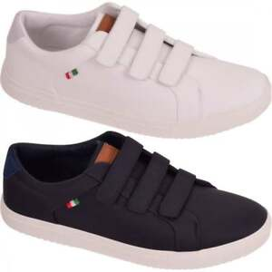 Mens D555 ' Without Laces' Trainers Big