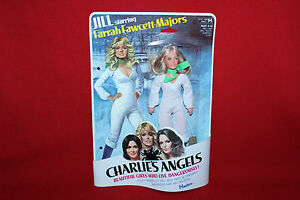 Vintage d'origine Hasbro Charlie's Angles de Jill avec Farrah Fawcett-majors
