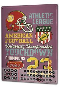 Calendario-perpetuo-Deportes-Futbol-americano-Metal-Imantado
