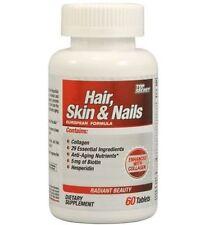 Top Secret HAIR, SKIN, & NAILS Collagen Biotin AntiAging Hesperidin 60 tablets