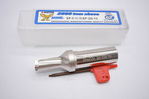SP-13-C20-3D U drill indexable drill 13mm C20-3D FOR SPMG050204 Φ13-3D insert
