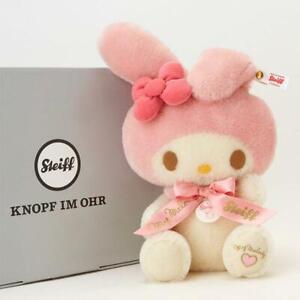 Steiff-x-Sanrio-My-Melody-Plush-Doll-600-Limited-Rare-Stuffed-Collaboration