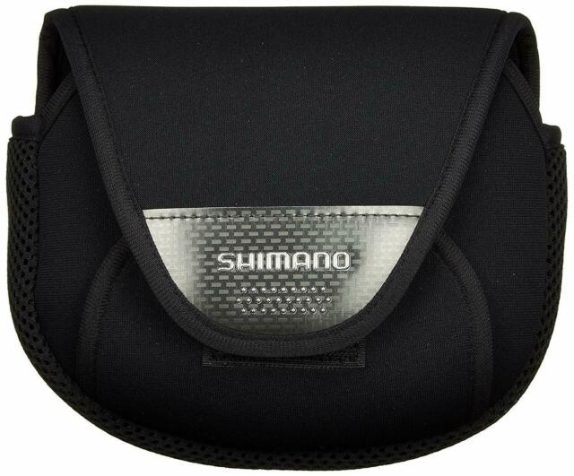 NEW Shimano Extra Small Spinning Reel Soft Case PC-031L (SS) Black (#1000) Japan