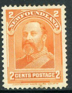 Canada-1898-Newfoundland-5-Vermillion-Scott-82-Mint-Z758