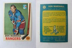 1969-70-OPC-O-Pee-Chee-39-Marshall-Don-rangers