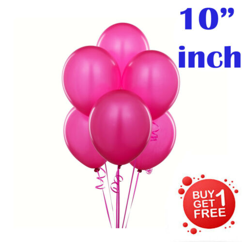 10X Latex 10 inch Plain BALOONS BALLONS helium BALLOONS Quality Wedding Birthday