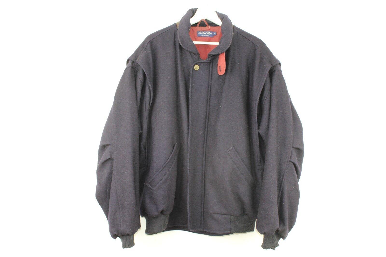 Mens Gant Melton Flyer Vintage Blau Jacket Größe XL stock No.Y401