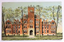 Old postcard LINDLEY HALL, EARLHAM COLLEGE, RICHMOND, INDIANA, 1911