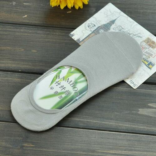 3 pairs of Bamboo Socks Quality Peds Low Ankle Invisible Women Cotton Slippers