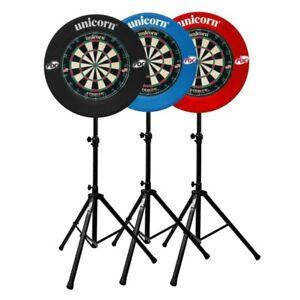 Unicorn-Striker-Dartboard-amp-Surround-with-Gorilla-Arrow-Pro-Dart-Board-Stand