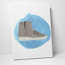 Aquarelle: Addidas Yeezy 750 Boost Canvas 11in x 14in