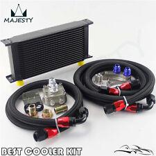19 ROW OIL COOLER KIT FOR NISSAN Silvia S13 S14 S15 180SX 200SX 240SX SR20DET BK