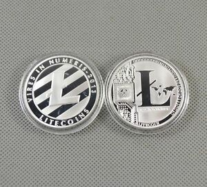 Hot-Silver-Plated-Commemorative-Litecoin-Collectible-Golden-Iron-Miner-Coin-Gift