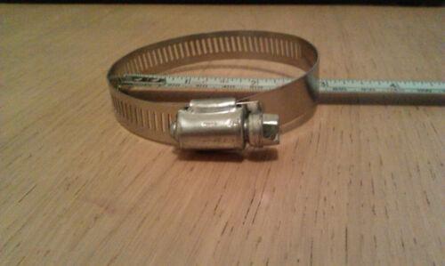 ACCIAIO inossidabile tubo morsetto si adatta 19 a 70 mm diam come Jubilee Clip Band