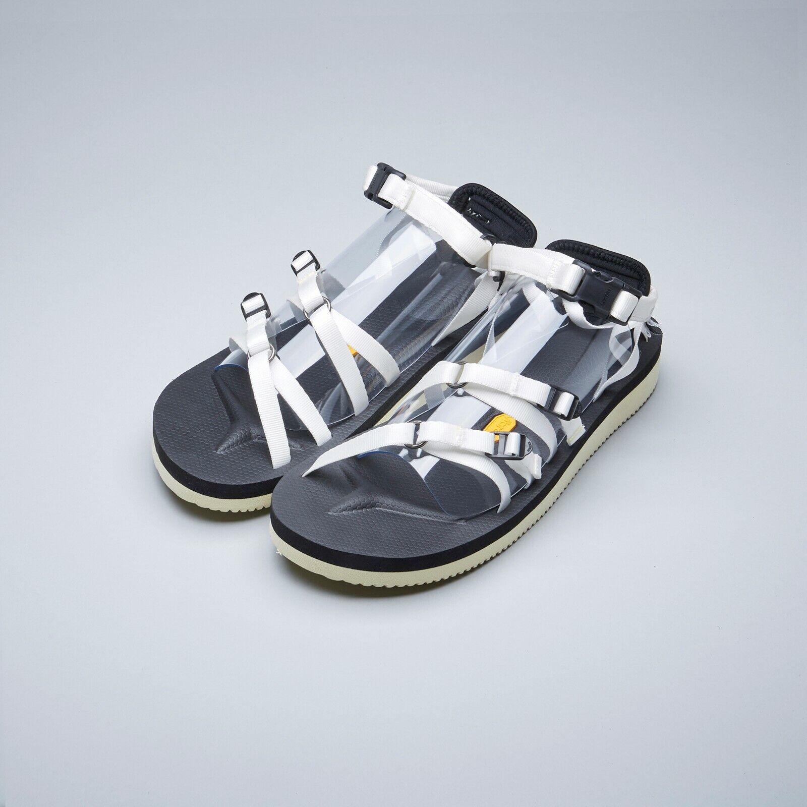 Suicoke SS19 OG-050V   TOSSHI-V blanco Vibram adjustable Nylon Tapes Sandals