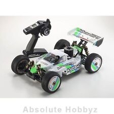 Kyosho Inferno MP9 TKI3 T1 ReadySet 1/8 Nitro Buggy 2.4GHz Radio & KE21R Engine