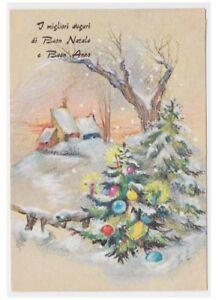 Weihnachtsbaum Der Guten Wünsche.1956 Postkarte Guten Wünsche Vintage Fg Kinder Weihnachtsbaum